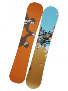 RIDE snowboard BUSINESS BLUE ORANGE 157