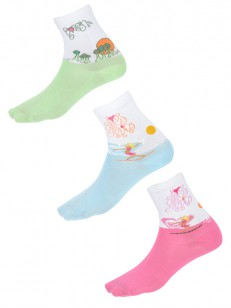 QUIKSILVER ponožky QLWSX042 WHT