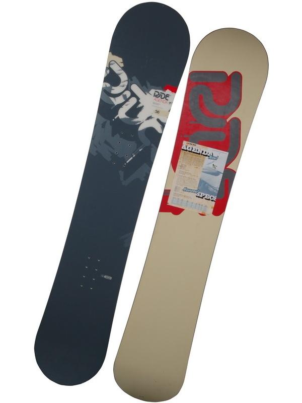 Ride Snowboard Agenda Gry/red 156 šedá