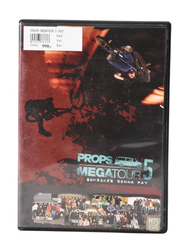 Ostatni Props Megatour 5 Dvd