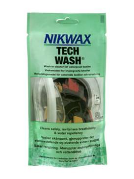 Nikwax Prací Prášek Loft Tech Wash Grn - 100ml zelená