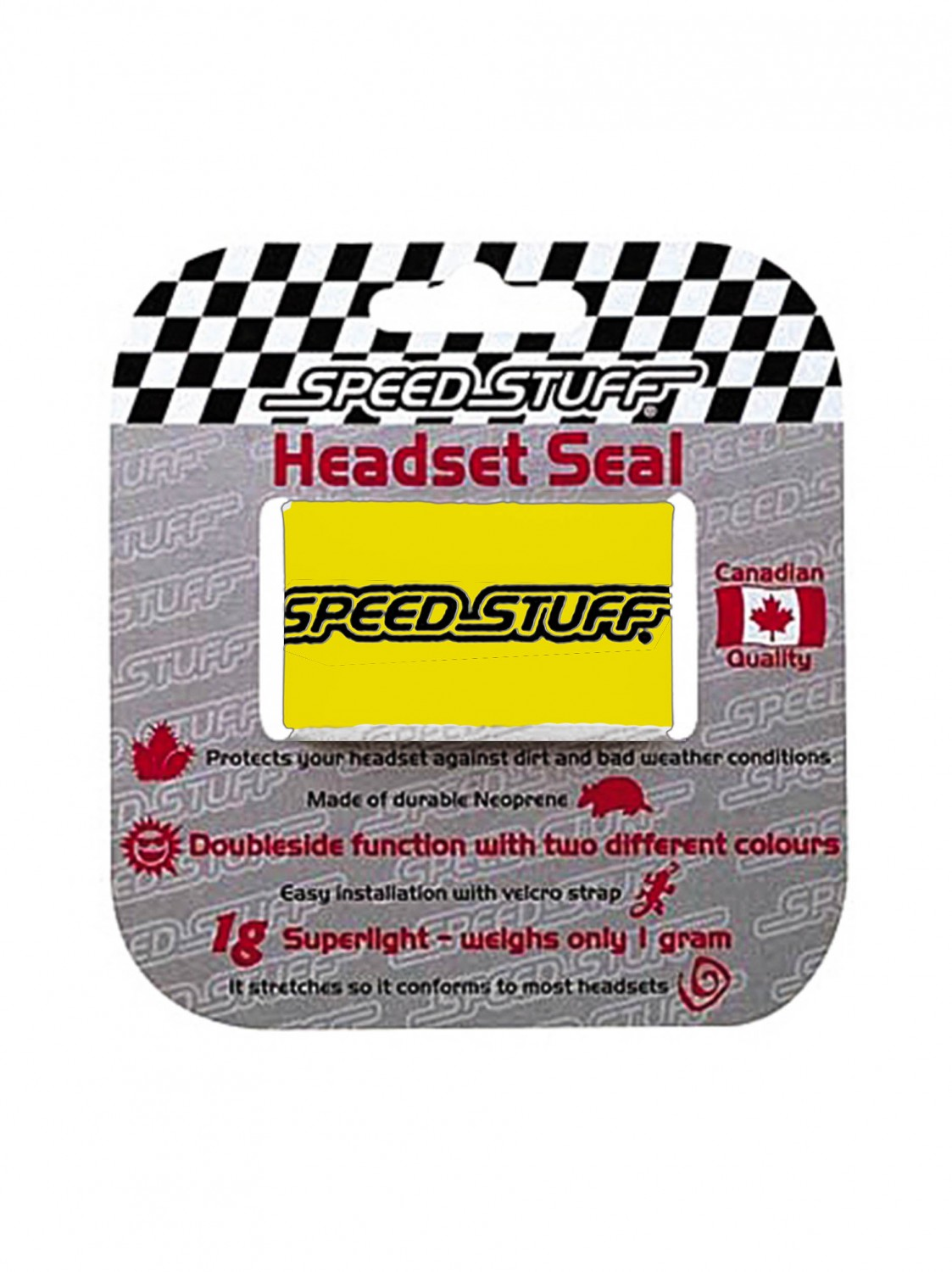 Speed Stuff Neopren Head Seal Yel modrá