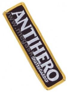 ANTIHERO nášivka BLACKHERO BLK/WHT
