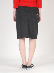 PEACE sukně LONG SKIRT BLK