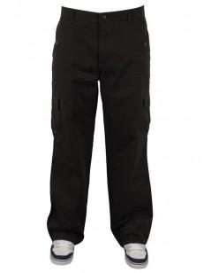 PEACE kalhoty CARGO BLK