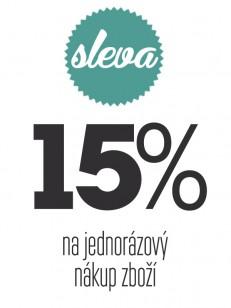 TEMPLESTORE poukaz 15% sleva na jednorázový nákup