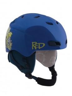 RED helma BUZZCAP BLU