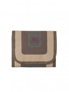 PEACE peněženka ZONE BRW/BEI