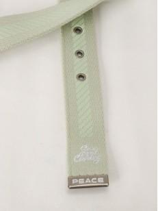 PEACE pásek CATCH A S EYE GRN