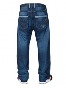 PEACE kalhoty CROSSTOWN JEANS vintage indigo