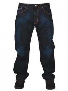 PEACE kalhoty TOWN LEADER dark indigo