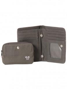 VEHICLE peněženka OYSTER CHARCOAL