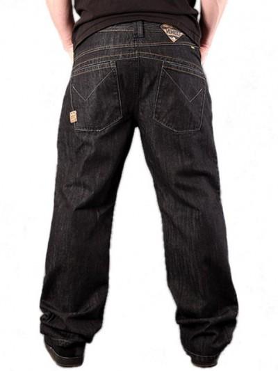 VEHICLE jeans dětské DORMANT BLACK
