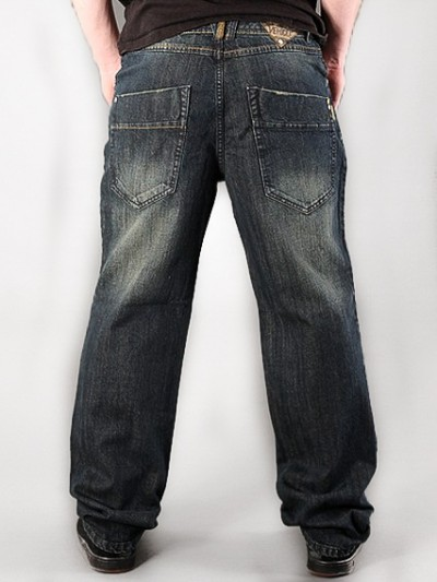 VEHICLE jeans LOGGER TINTED DARK BLUE