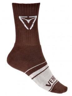 VEHICLE ponožky ASPHALT BROWN