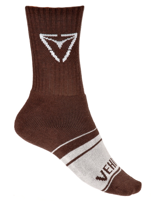 Vehicle Ponožky Asphalt Brown - 22 hnědá