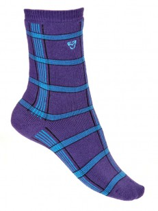 VEHICLE ponožky GABON FALL VIOLET