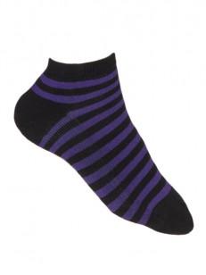 VEHICLE ponožky LINE-UP FALL VIOLET