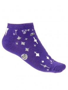 VEHICLE ponožky NIGHT SKY FALL VIOLET