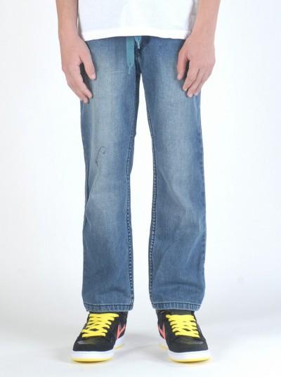 VEHICLE jeans dětské GARRET DARK BLUE