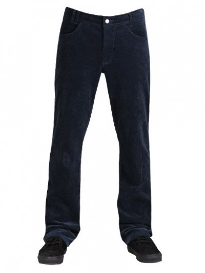VEHICLE kalhoty WEDGER CORD INDIGO