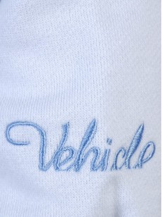 VEHICLE mikina FLOURISH WHITE