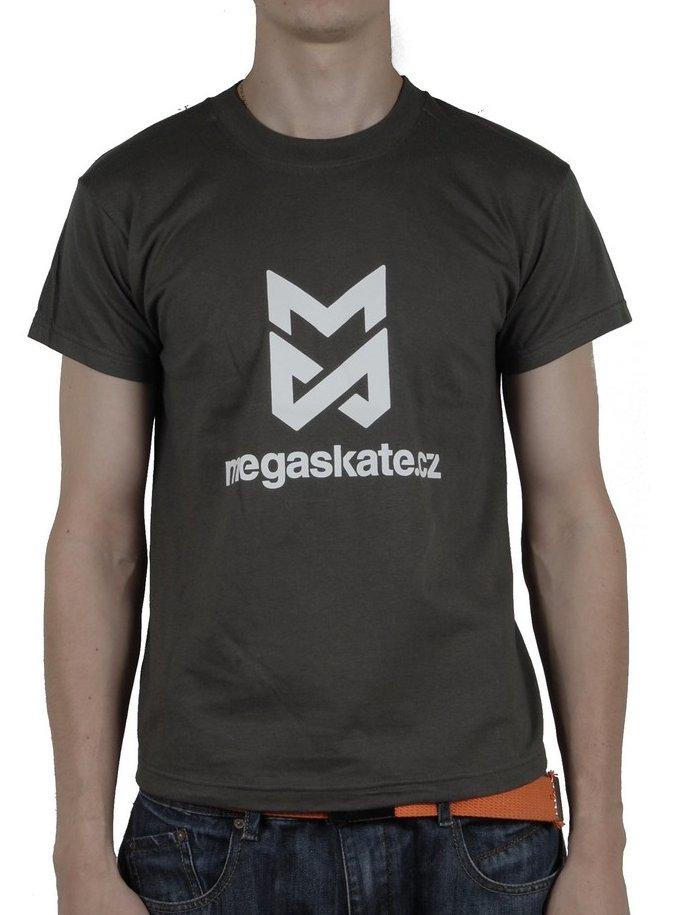 Megaskate Triko Logo Army Grn - Yl zelená