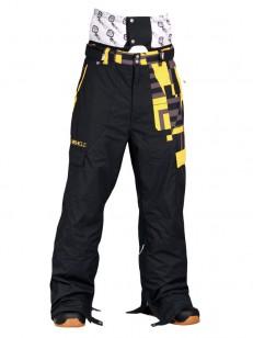 VEHICLE SNB kalhoty dětské GROWLER BLACK/GRW O3