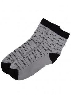 PEACE ponožky RAYAS GREY