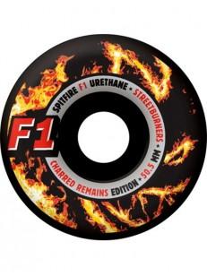 SPITFIRE kolečka F1 STREETBURNER CHAR BLK/ORG 50.5