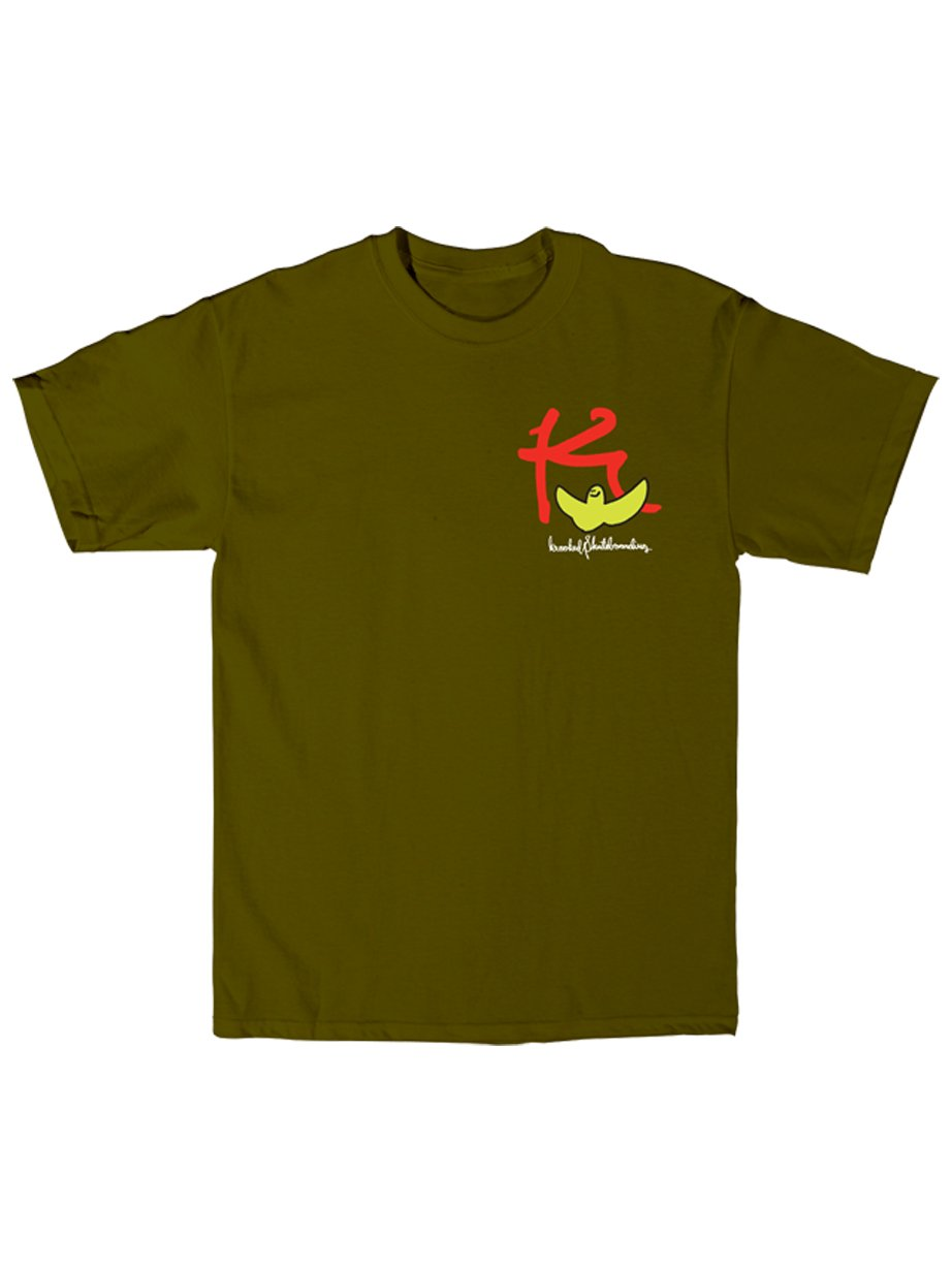 Krooked Triko Kbird Army Green - M zelená