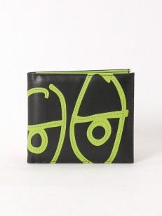 KROOKED peněženka EYES BI FOLD green