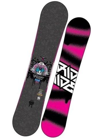 Ride Snowboard 07 Dose Pin 153 růžová
