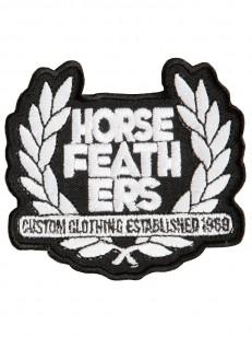 HORSEFEATHERS nášivka BROAD WHT