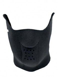 DEMON kukla NEOPRENE FACE BLACK