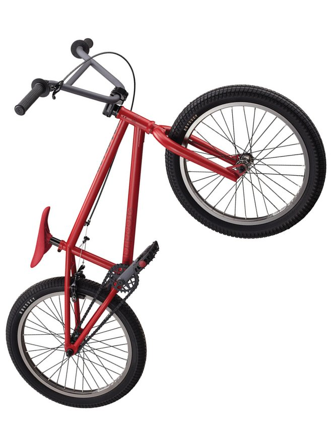 Mongoose Bmx Kolo Fraction Matte Red červená