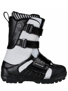 RIDE boty STRAPPER 9413 BLACK/WHITE