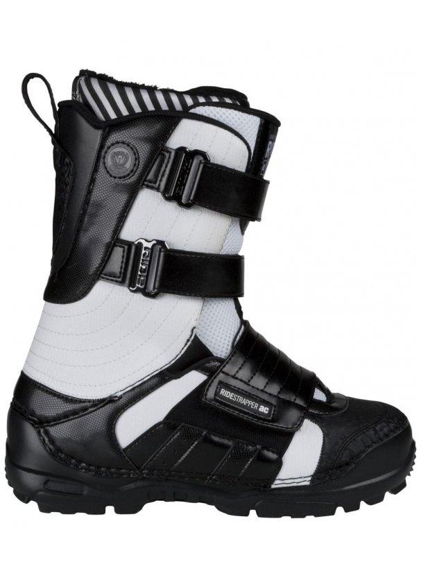 Ride Boty Strapper 9413 Black/white - 9us černá