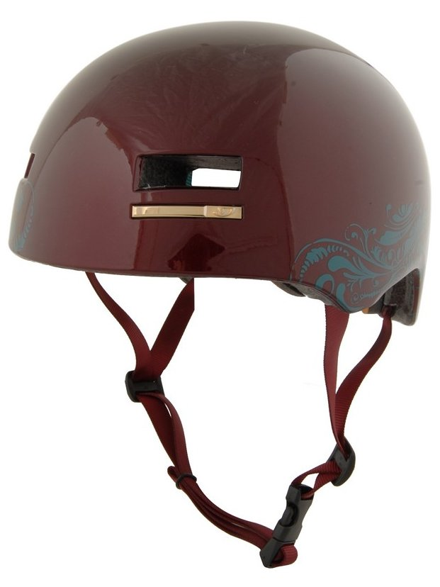 Giro Helma Section Wine/teal - M