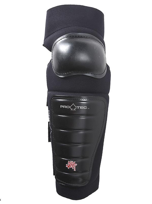 Pro Tec Knee-shin Knee Shin Blk černá