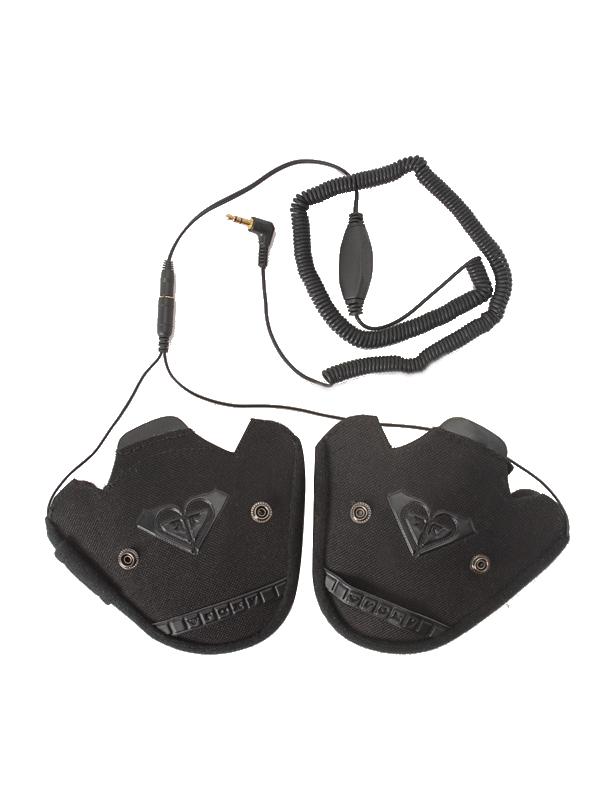 Roxy Kit Audio Helmets Tu/lia černá