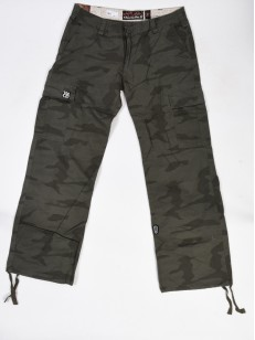 OSTATNI BLOCK PANTS WOMEN  CAMO