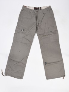 OSTATNI BLOCK PANTS WOMEN  GREY