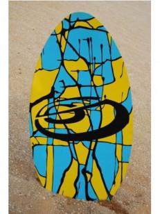 ST.STREAM skimboard BAILARINES39 YEL/BLU