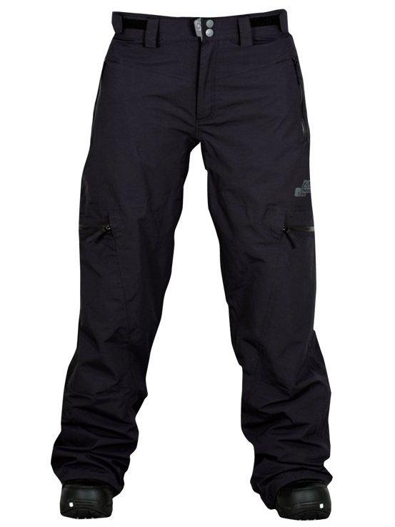 Horsefeathers Kalhoty Indi Black - Xl černá