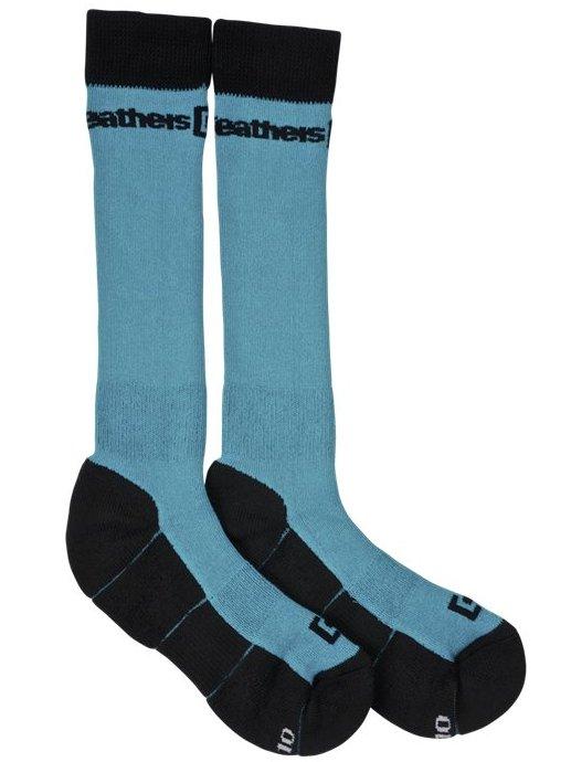 Horsefeathers Ponožky Draft Blue - 20-22 modrá