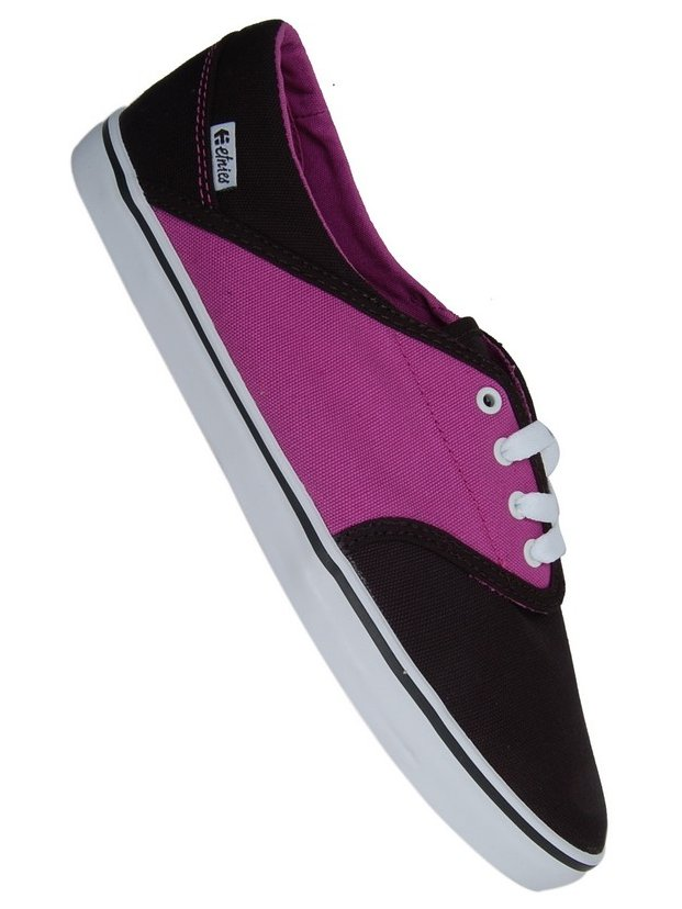 Etnies Boty Caprice 550 Black/purple - 10usw černá