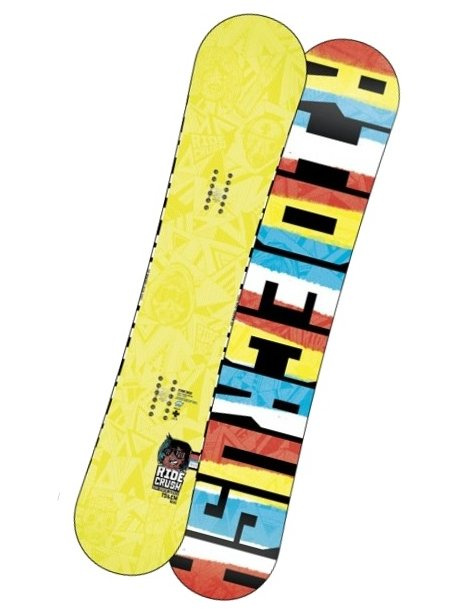 Ride Snowboard Crush Wide Yel 156w žlutá