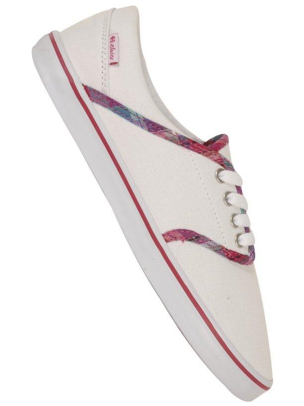 Etnies Boty Caprice White/pink - 7,5usw bílá