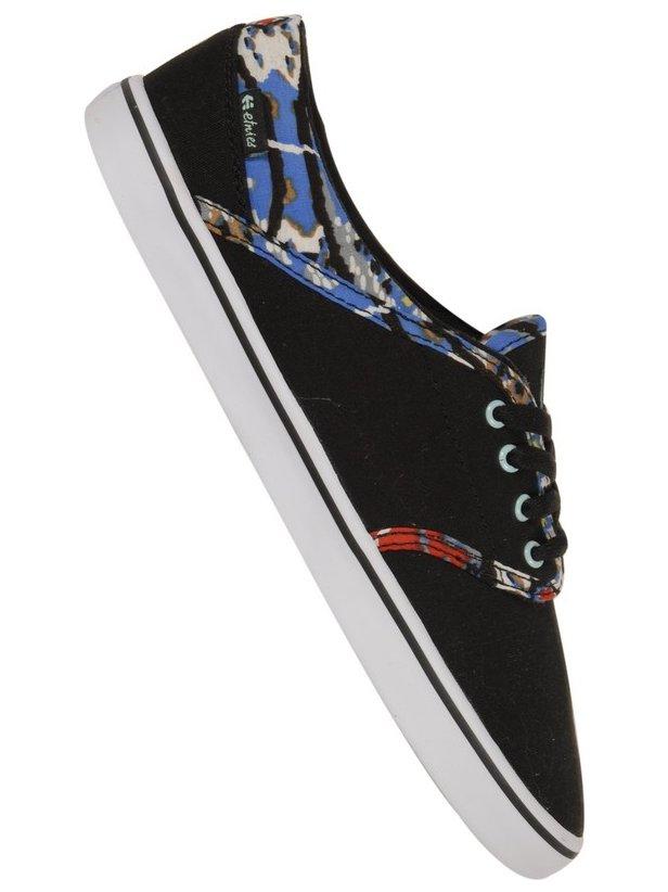Etnies Boty Caprice Black/blue - 7,5usw černá